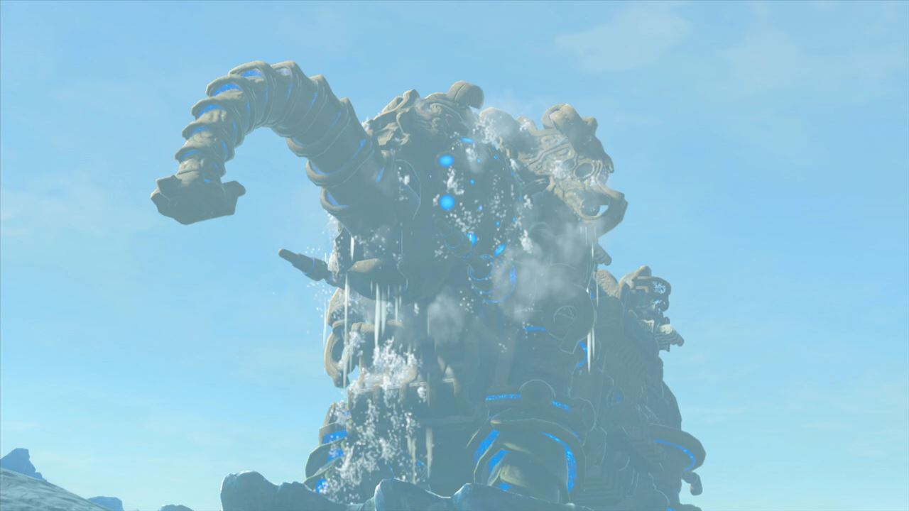 ゼルダ の 伝説 ブレス オブザ ワイルド 水 の 神 獣